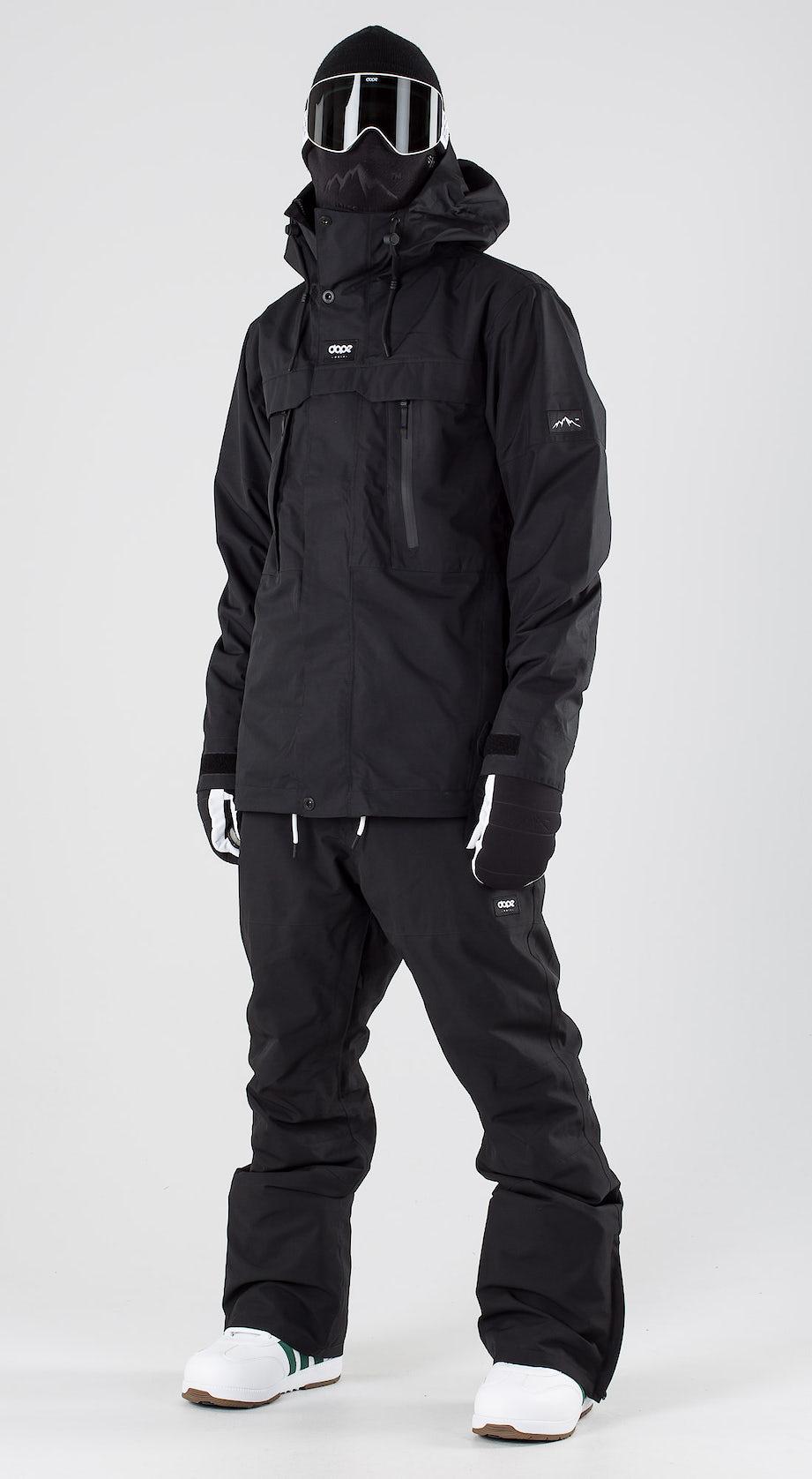 Dope Lunar Black Snowboard clothing Multi