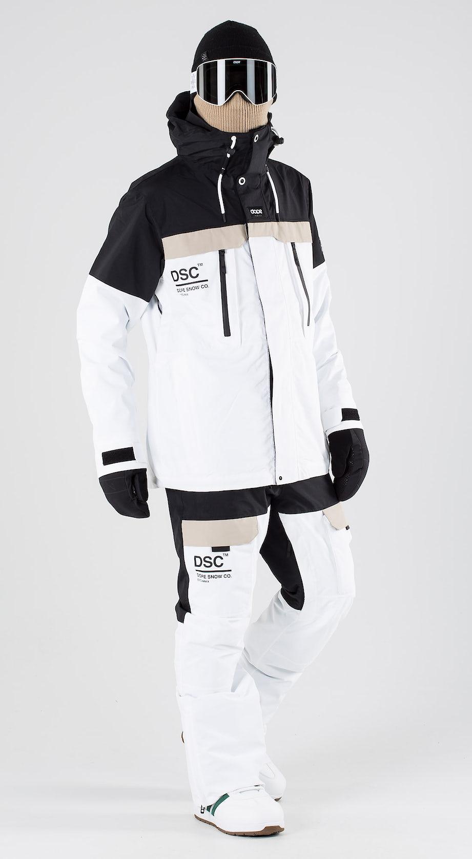 Dope Lunar DSC Black Sand White Snowboard clothing Multi