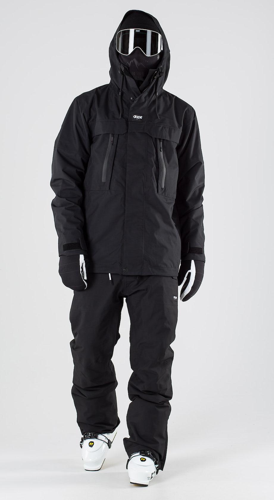 Dope Lunar Black Vêtements de ski Multi