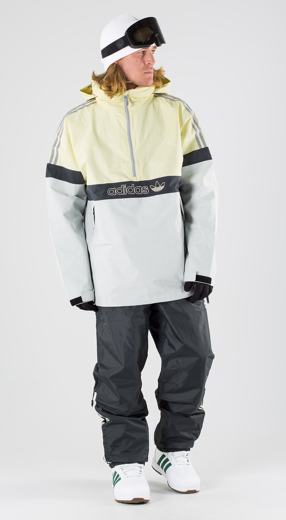 Adidas Snowboarding BB Snowbreaker Haze Yellow/Stone/Carbon Snowboardkläder Multi