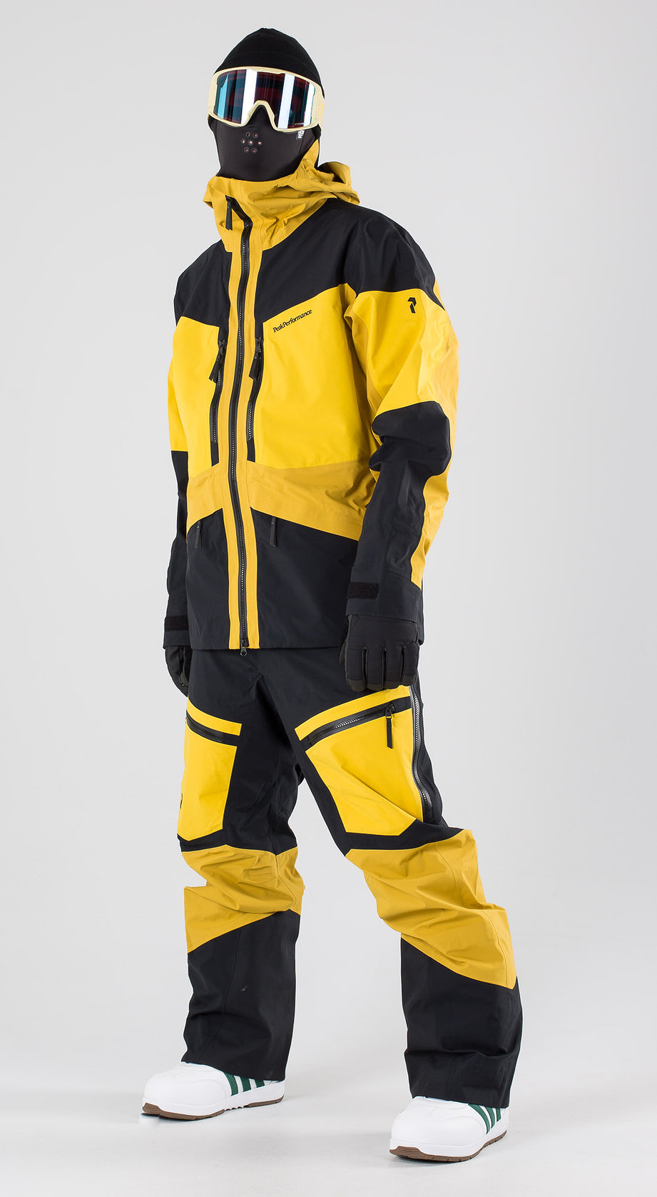 Peak Performance Gravity Yellow Flow Snowboardkleidung Multi
