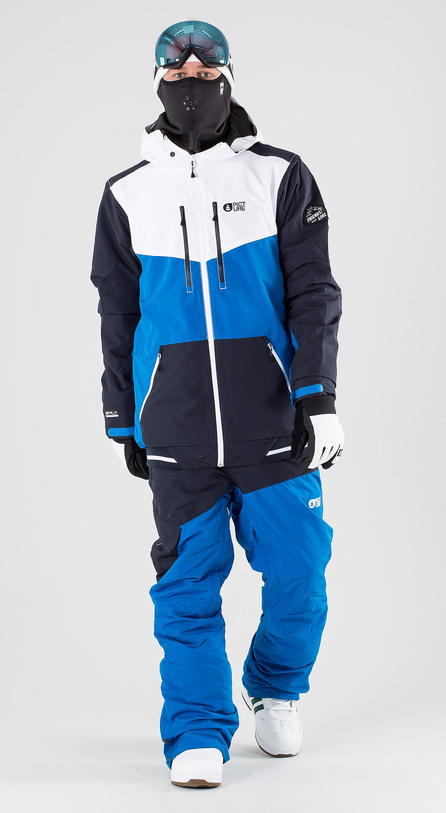 Picture Panel Blue Snowboardkleidung Multi