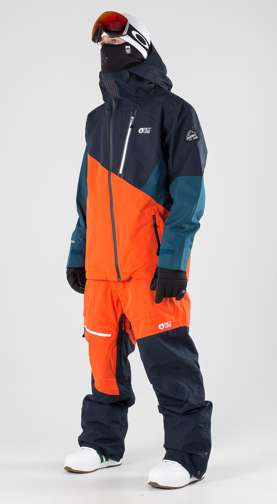 Picture Alpin Orange Dark Blue Snowboardkleidung Multi