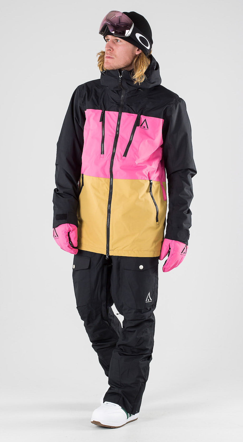 WearColour Grid Black Snowboardkleidung Multi