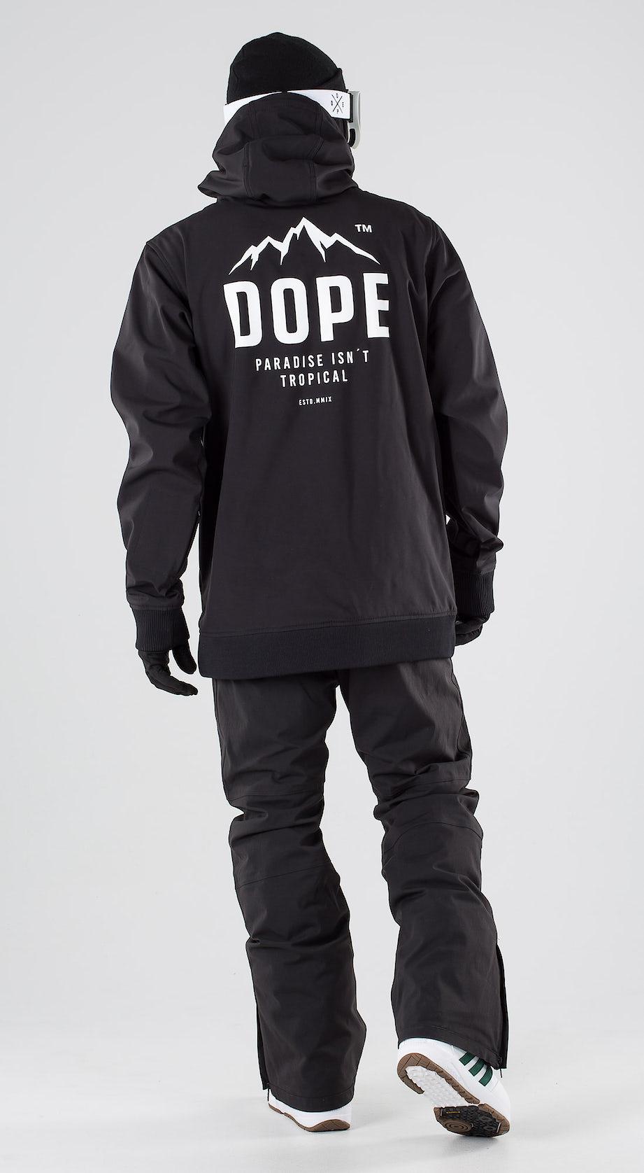 Dope Yeti Paradise II Black Snowboard clothing Multi