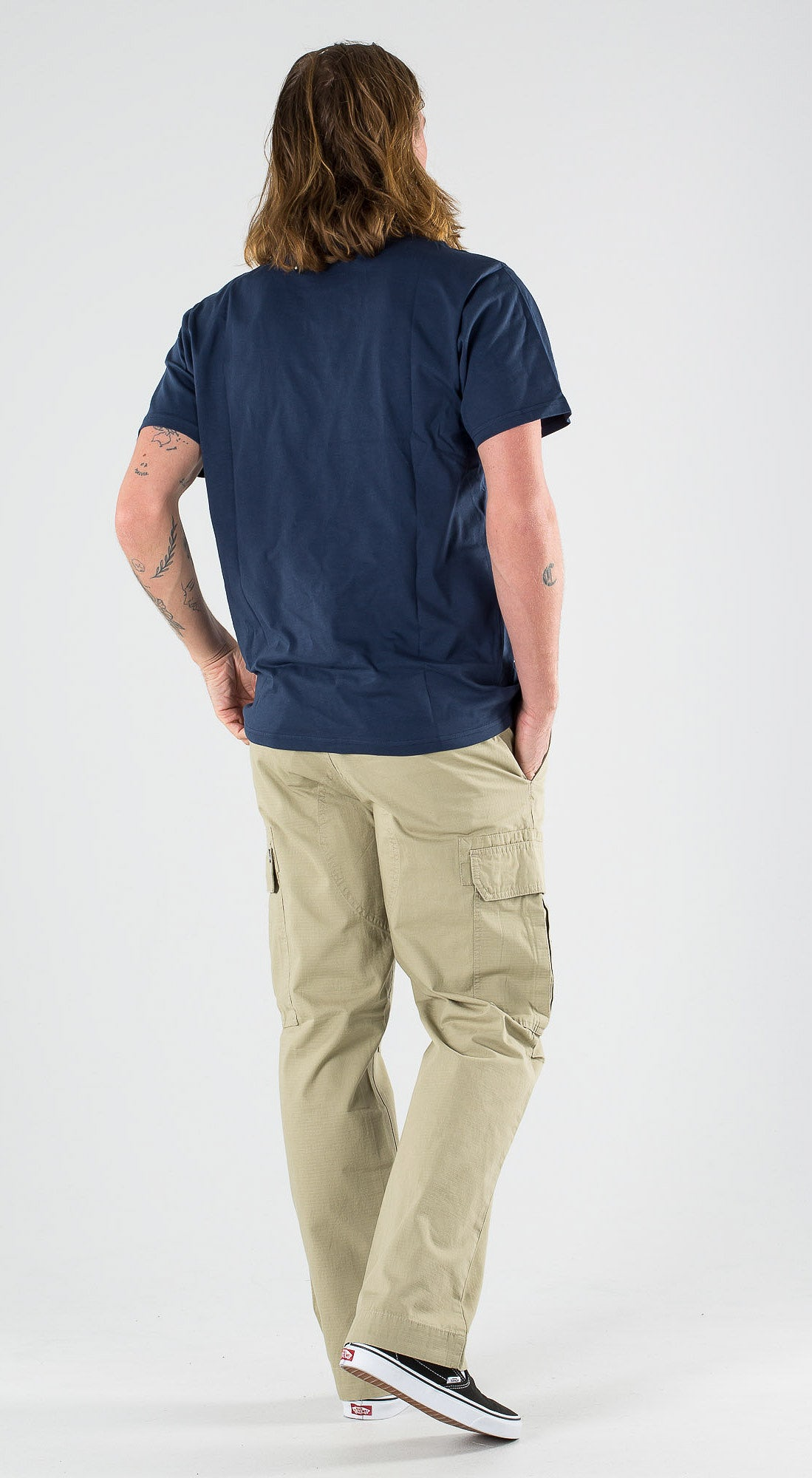 Vans Easy Box SS Dress Blues Sulphur Spring