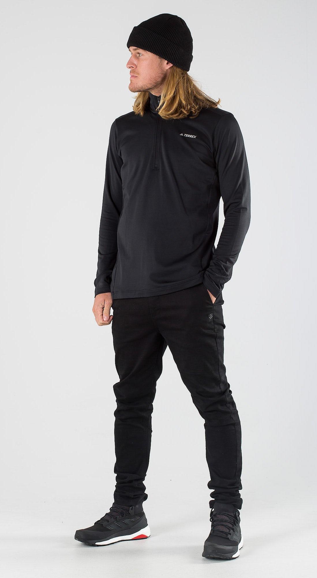 Adidas Terrex EveryHik 1/2 Zip Black