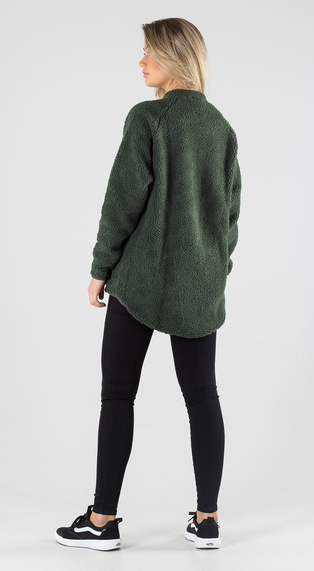 Eivy Redwood Sherpa Forest Green