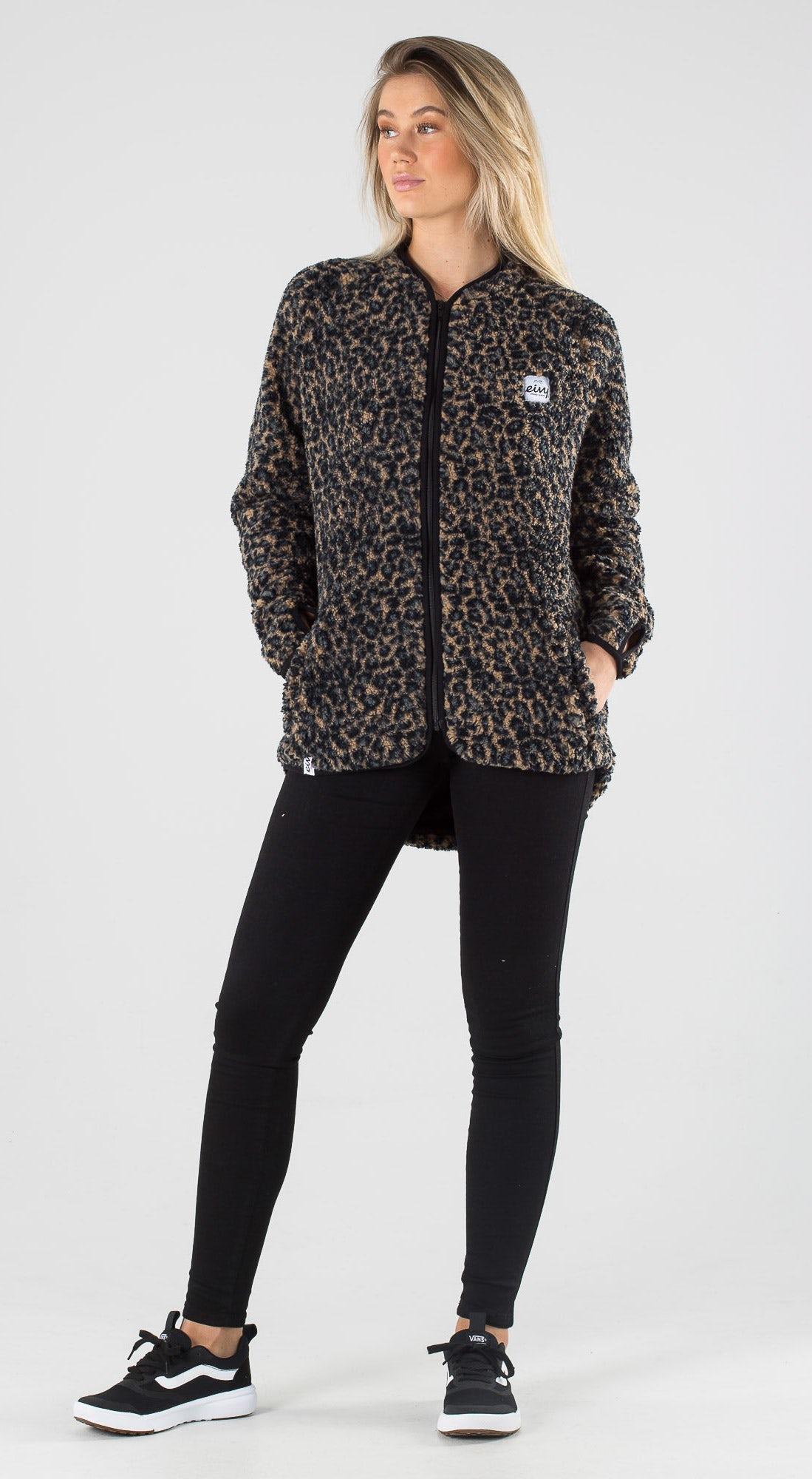 Eivy Redwood Sherpa Leopard