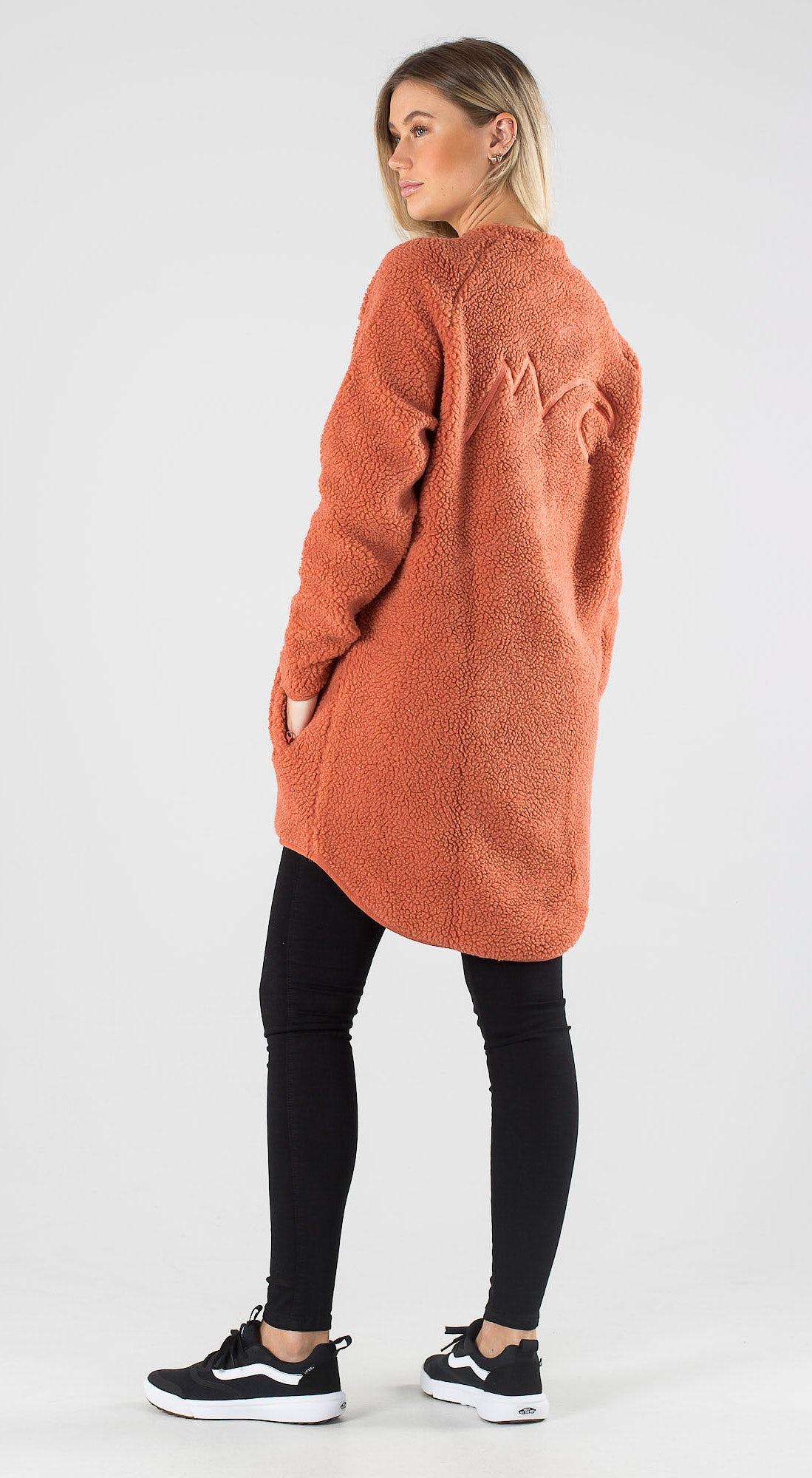Eivy Redwood Sherpa Coat Rustic