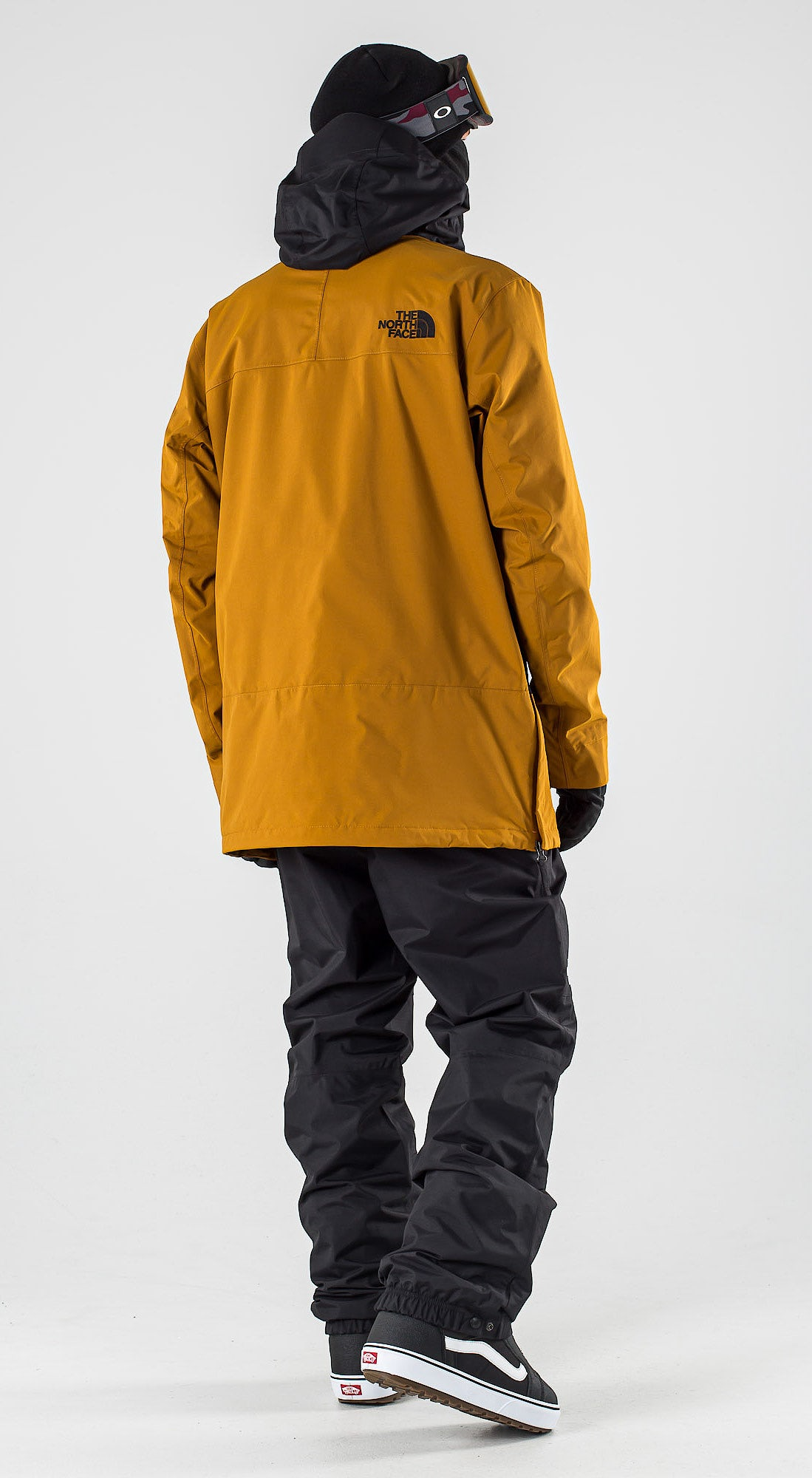 The North Face Silvani Anorak Timber Tan/Tnf Black