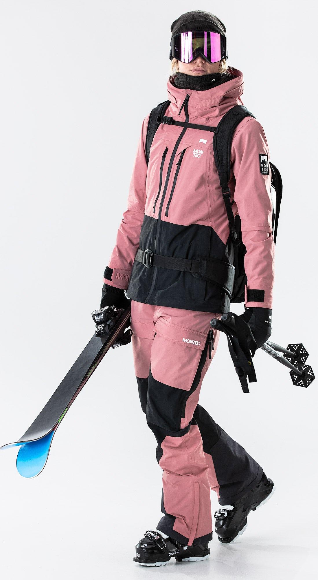 Montec Moss Pink/Black