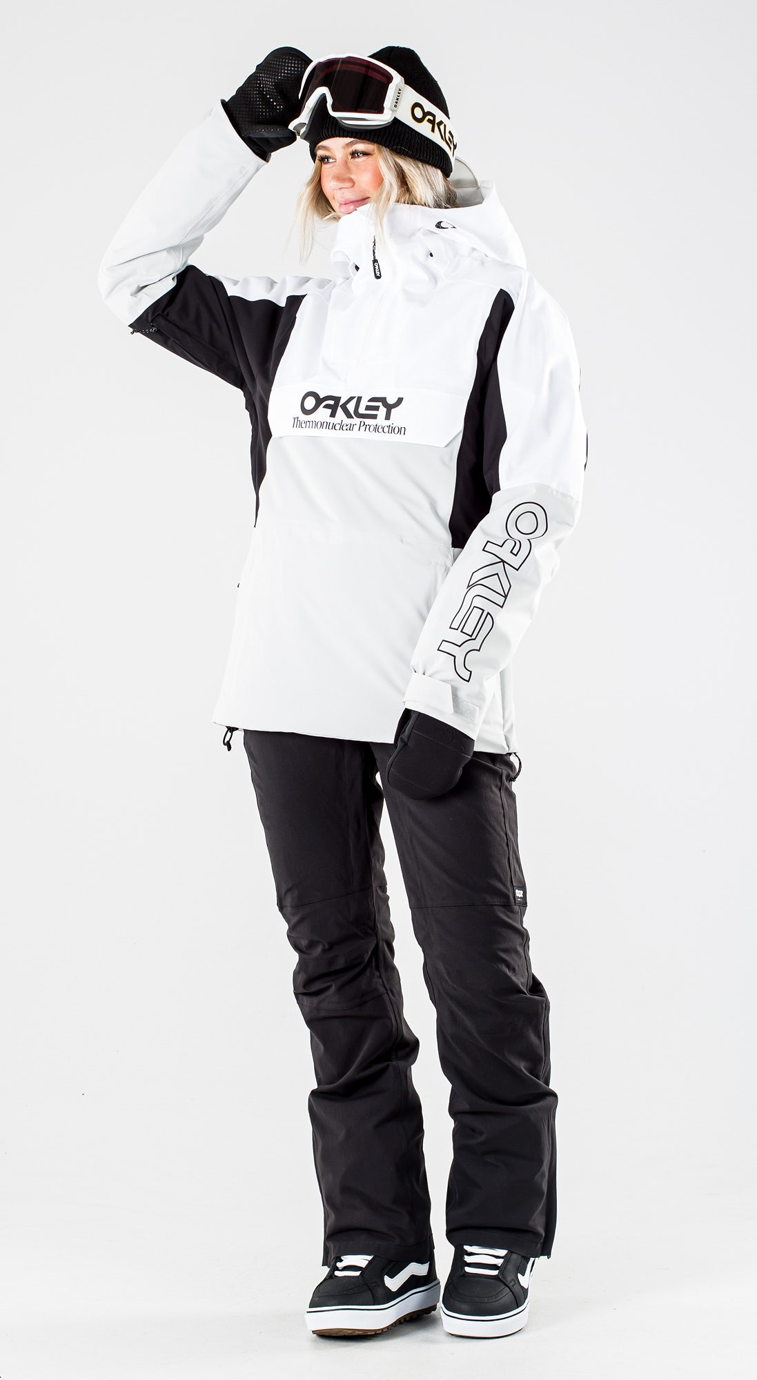 Oakley Insulated Anorak White/Grey